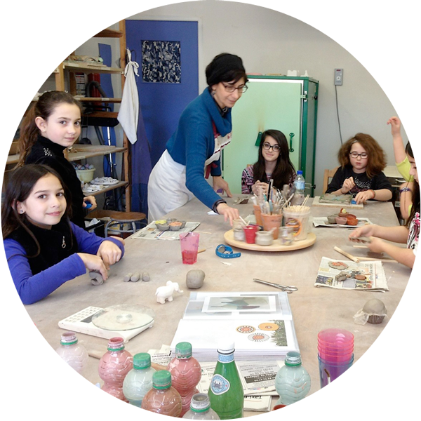 Stages vacances scolaires poterie