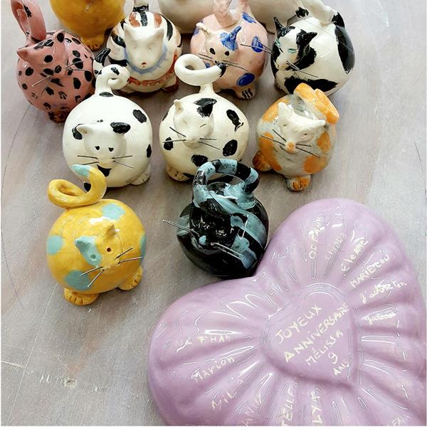 gouter anniversaire poterie